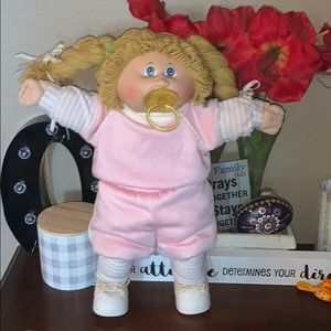 Original Cabbage Patch 1978 1982 girl long blond